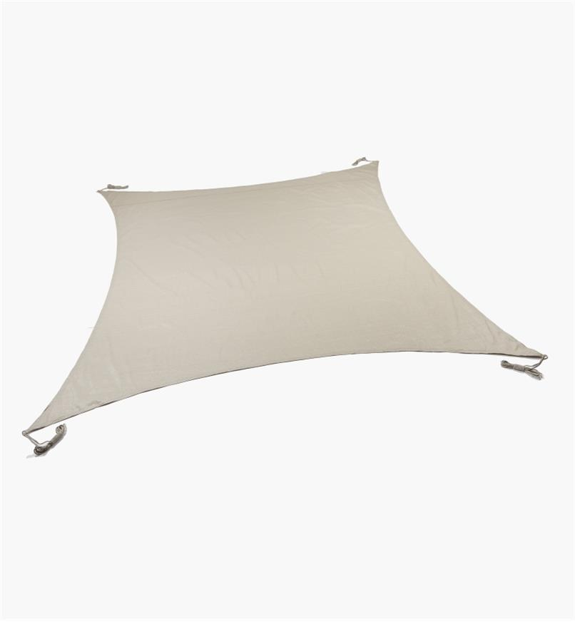 "BL618R - Coolaroo 11'10"" Square Shade Sail"