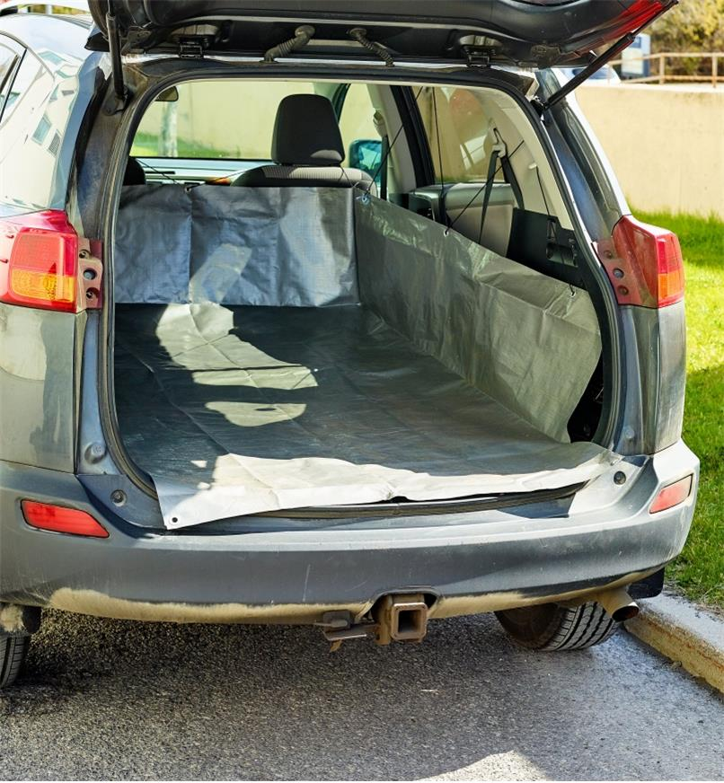 Medium Cargo Liner installed in an SUV's cargo area