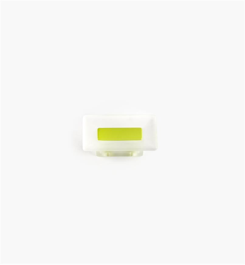 00W5421 - 16mm Bungee Rect. Pull, Chartreuse