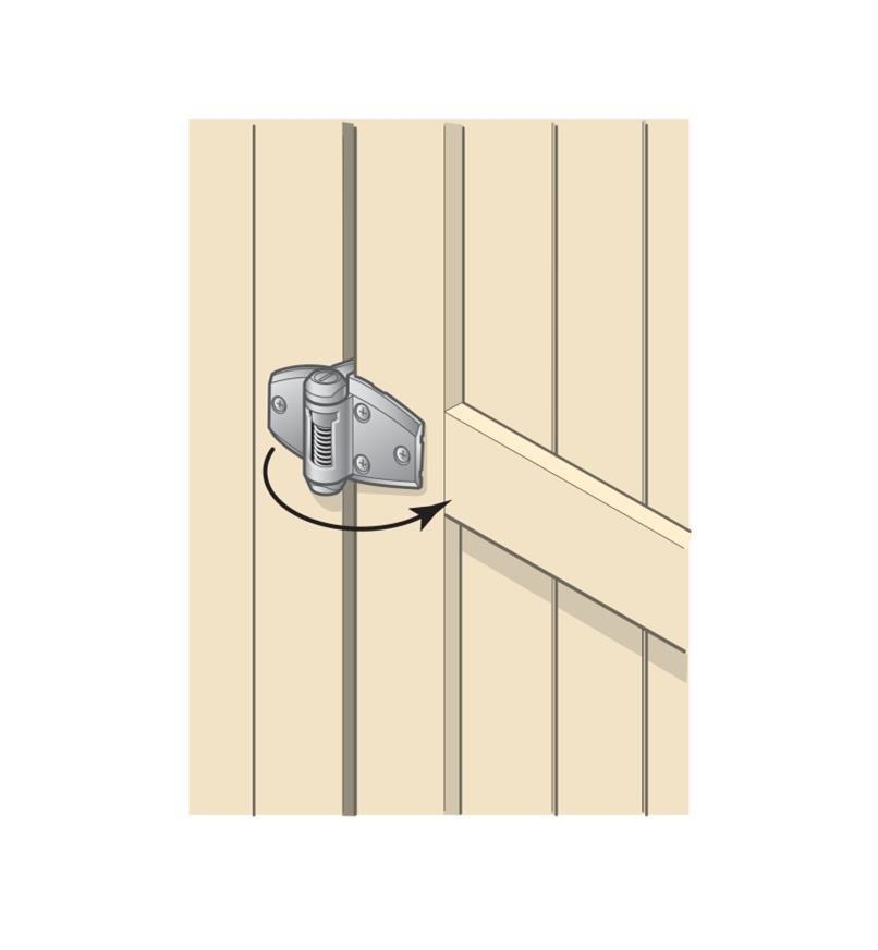 01S1620 - Standard Wrap Hinges, pr.