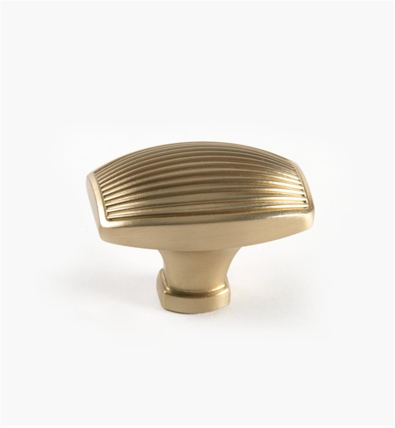 "02A1514 - Seagrass Golden Champagne 1 3/4"" Lg. Knob, each"