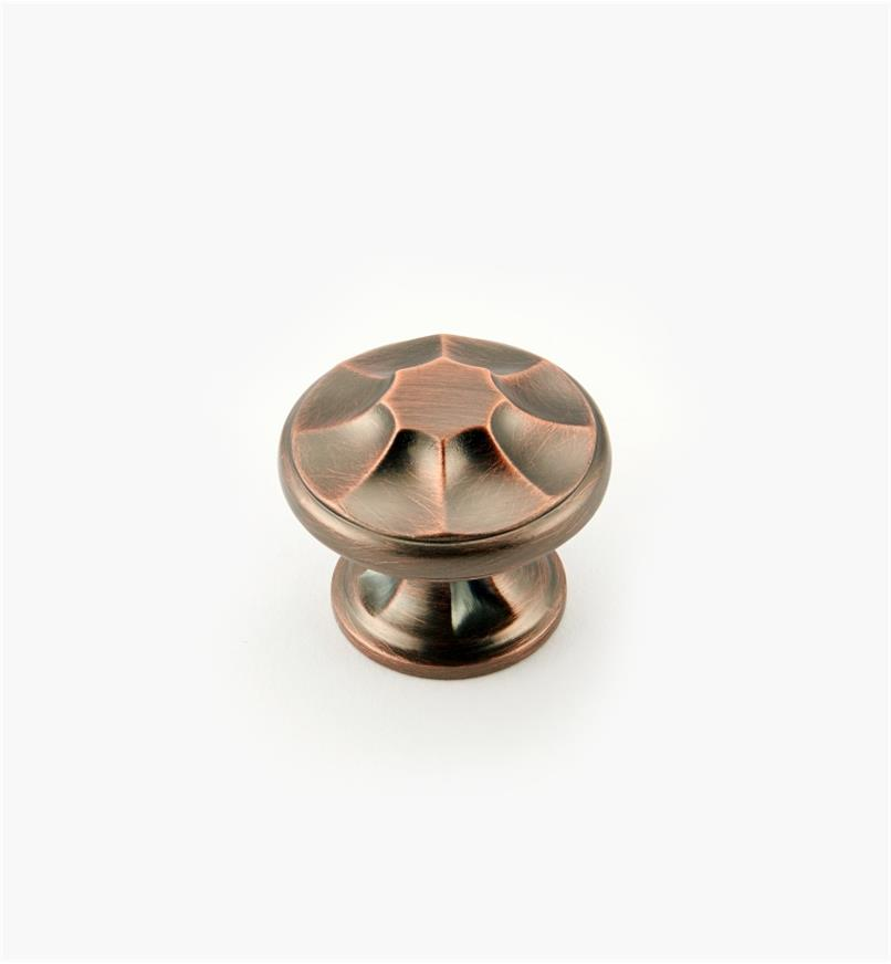 "02A5101 - Empire Suite – 1 3/8"" Brushed Bronze Round Knob"