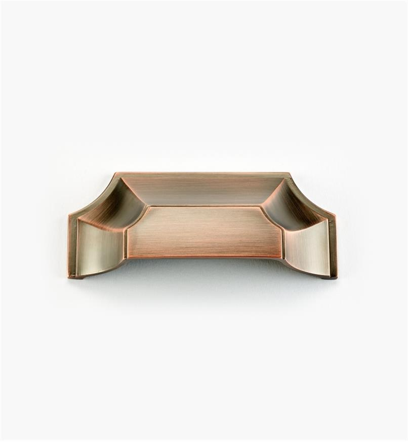 "02A5102 - Empire Suite – 3"" Brushed Bronze Cup Pull (4 3/8"")"
