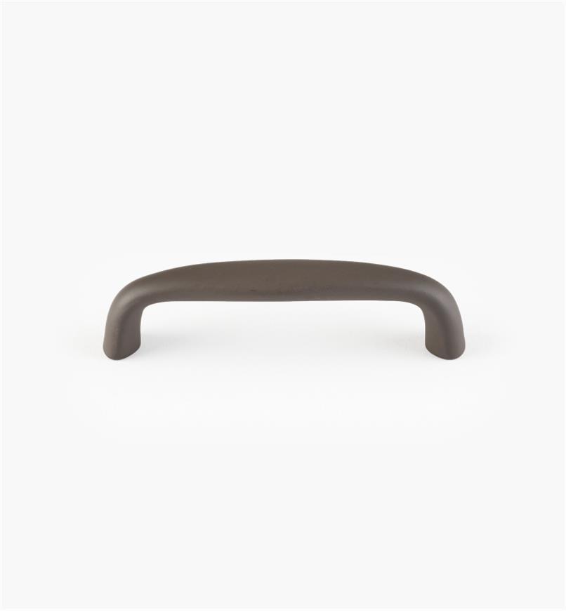 02W1121 - Petite poignée de 3 3/8 po, bronzehuilé (3po)