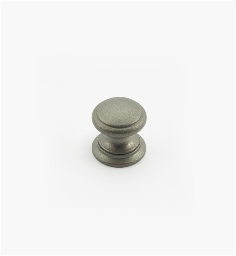 """02W1456 - Pewter Suite - 5/8"""" x 5/8"""" Round Brass Knob"""