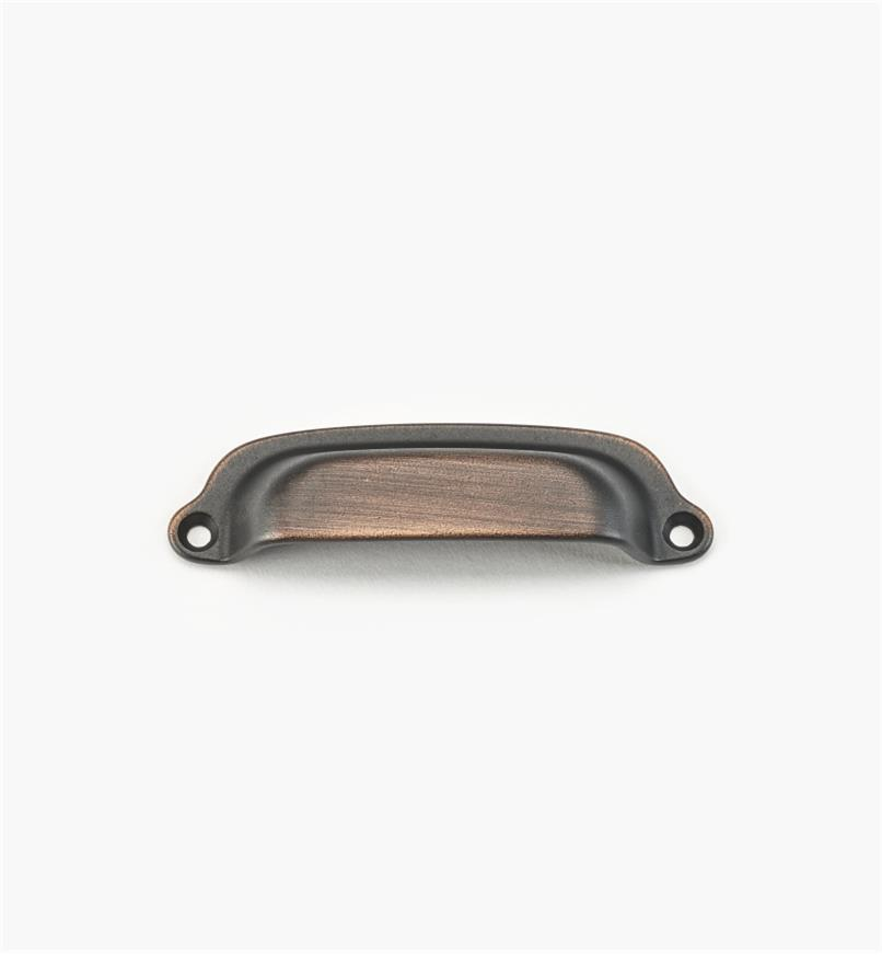 02W1659 - Weathered Bronze Suite - 86mm Forged Pull