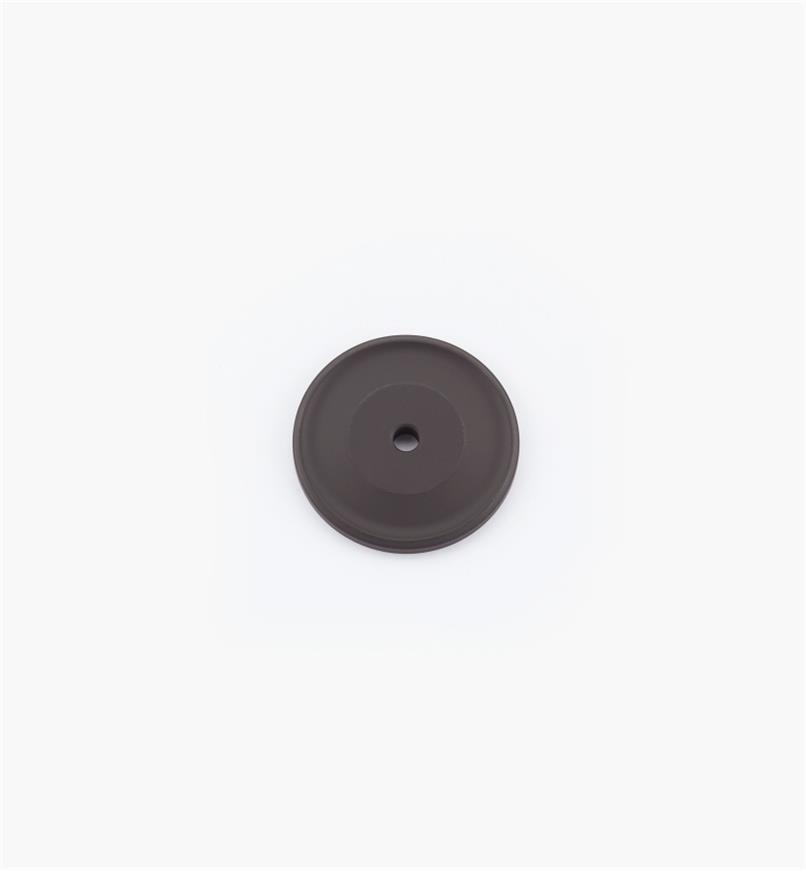 "02W1804 - 1 1/2"" Oil-Rubbed Bronze Knob Backplate"