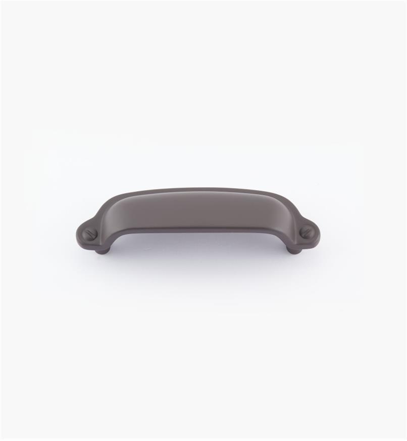 "02W1809 - 3 7/8"" Oil-Rubbed Bronze Rectangle Cup Pull (3"")"