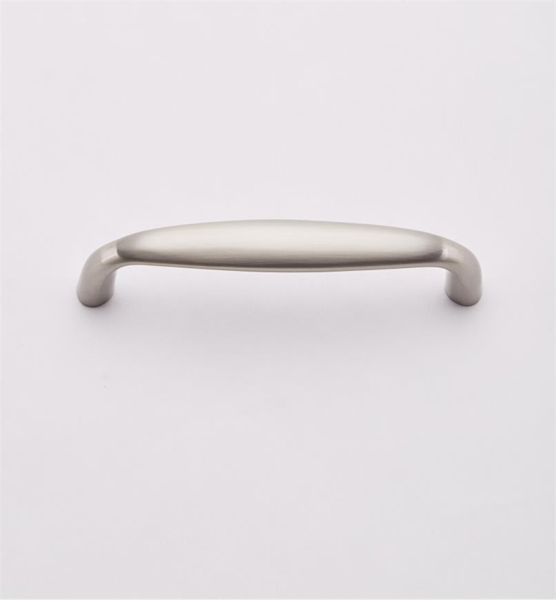 "02W1826 - 4 3/8"" Dull Nickel Large Pull (4"")"