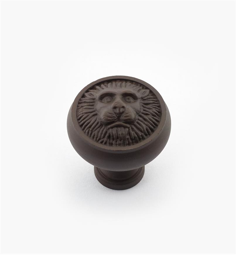 """02W2141 - 1 3/16"""" x 1 1/4"""" Oil-Rubbed Bronze Knob"""
