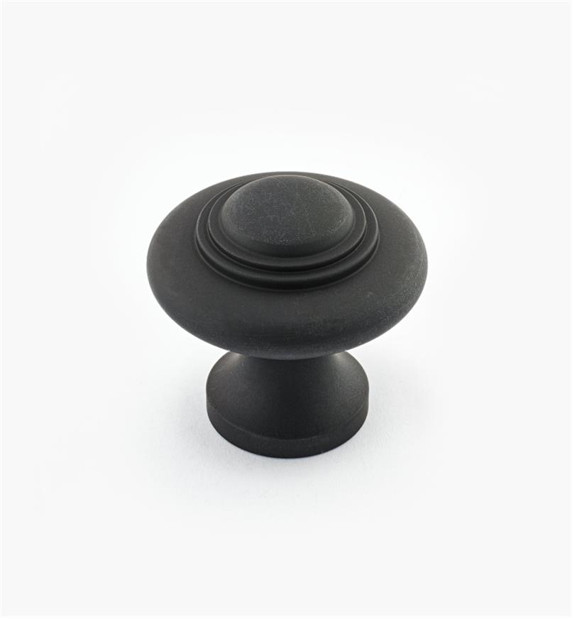 "02W2623 - 1 5/16"" x 1 1/4"" Cast Brass Ring Knob, Oil-Rubbed Bronze Suite"