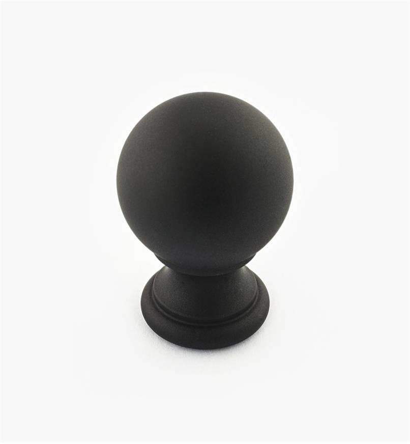 "02W3244 - Oil-Rubbed Bronze Suite - 1 1/8"" x 1 3/4"" Turned Brass Ball Knob"