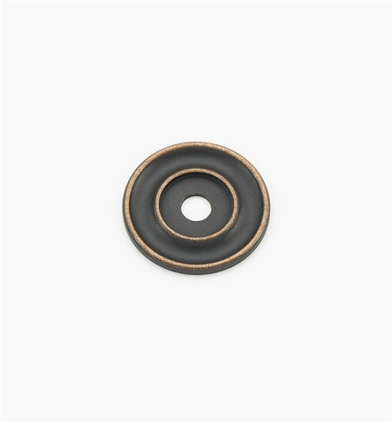 "02W3270 - Weathered Bronze Suite - 1 1/4"" Knob Escutcheons"