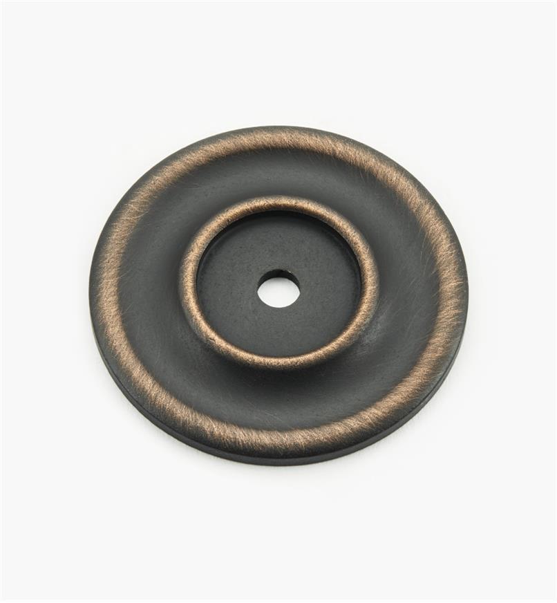 02W3272 - Rosace de 21/4po, série Vieux Bronze