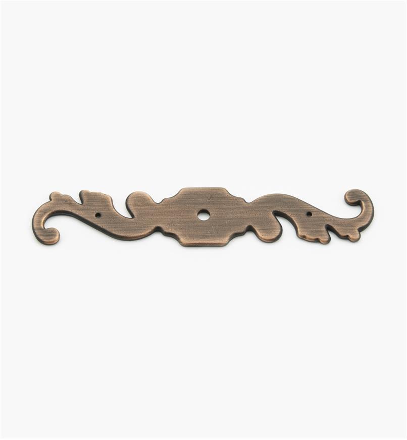 02W3274 - Platine de 1pox 51/4po, série Vieux Bronze