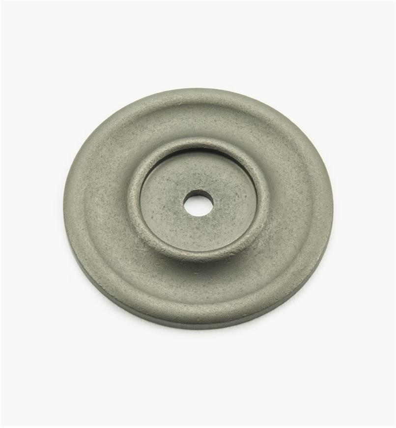 "02W3332 - Pewter Suite - 2 1/4"" Knob Escutcheons"