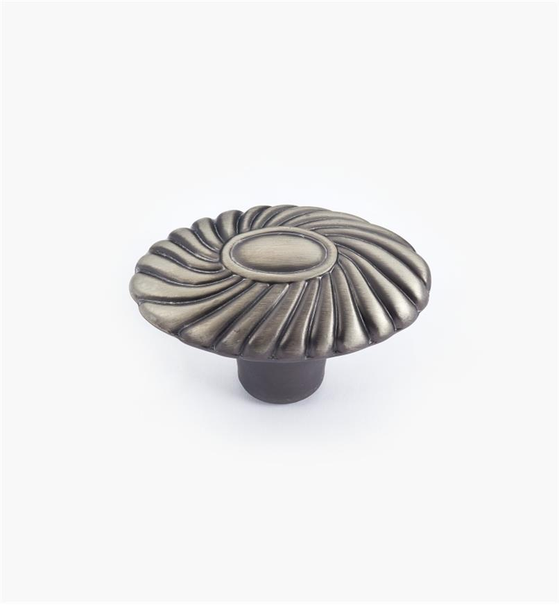 02W3447 - Orchid Brushed Antique Pewter Knob