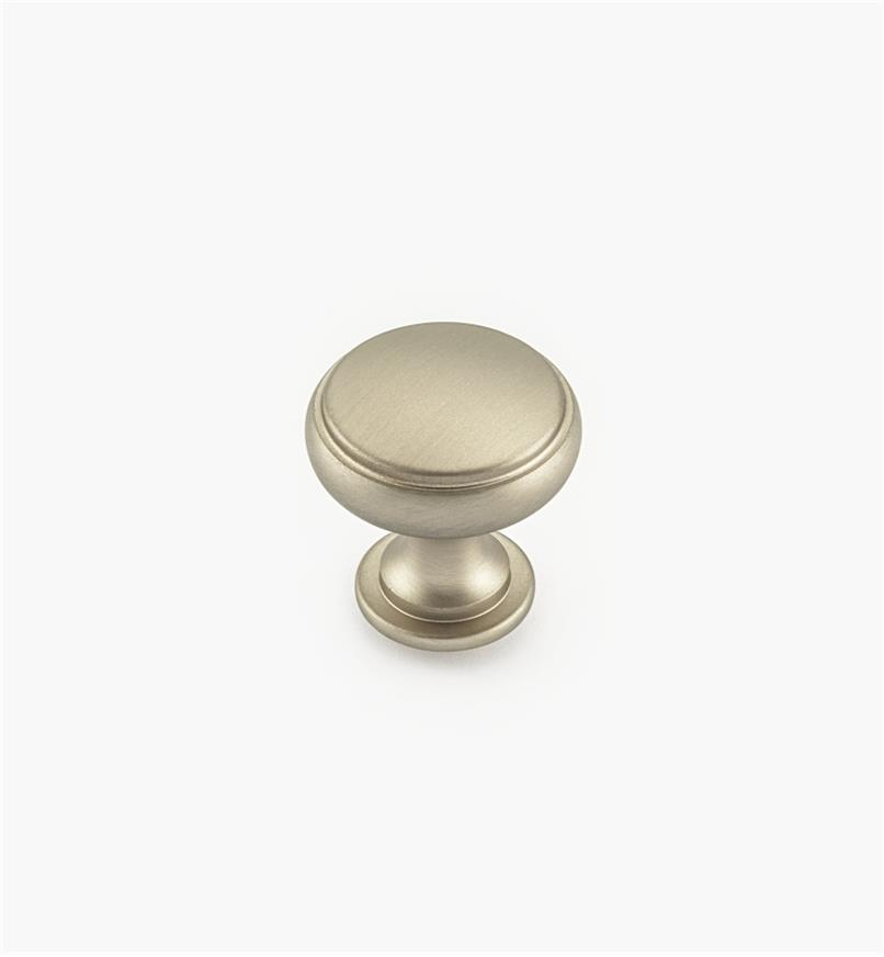 "02W4044 - 1 3/16"" Satin Nickel Knob"