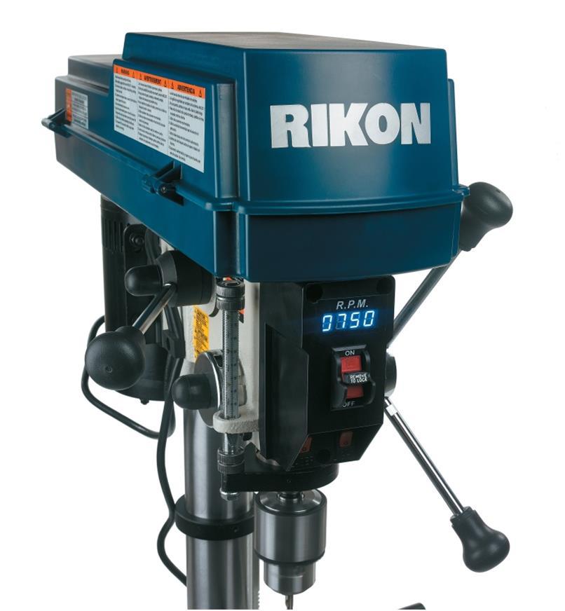 03J7390 - Perceuse à colonne 12po à vitesse variable Rikon