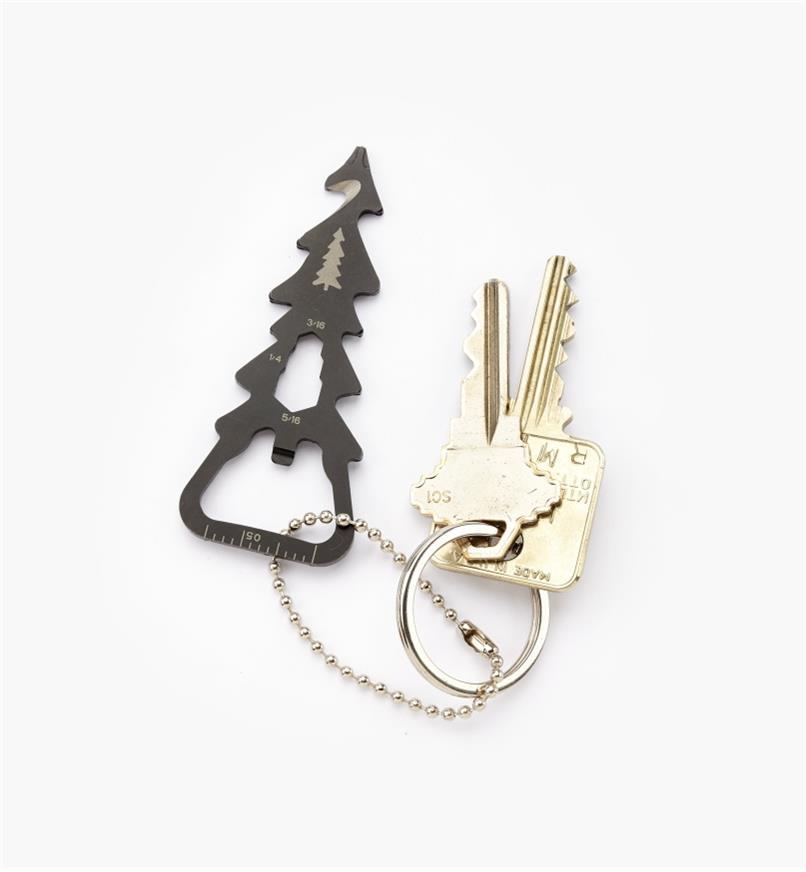 09A0383 - Porte-clés multifonction LeeValley