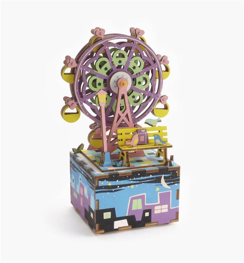 Assembled Ferris Wheel Music Box