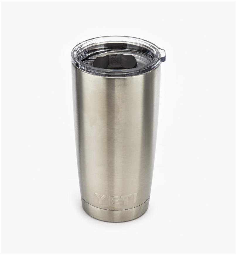 74K0032 - 20 oz Yeti Tumbler, Stainless Steel
