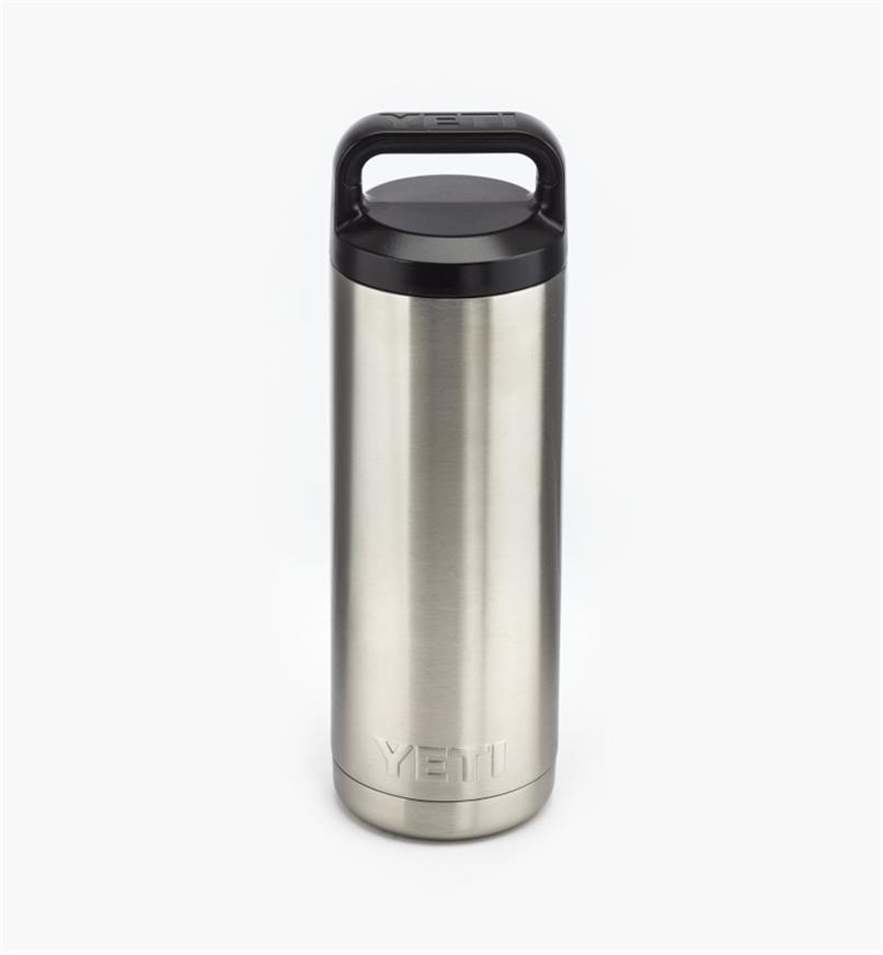 74K0050 - 18 oz Yeti Bottle, Stainless Steel