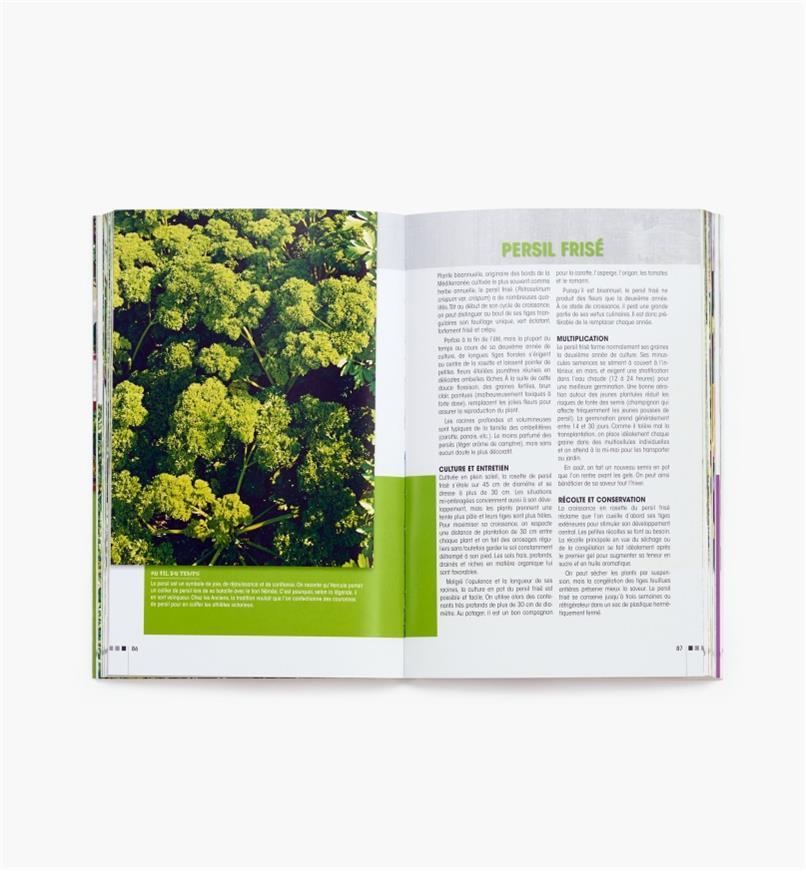 LD837 - Fines herbes et fleurs comestibles