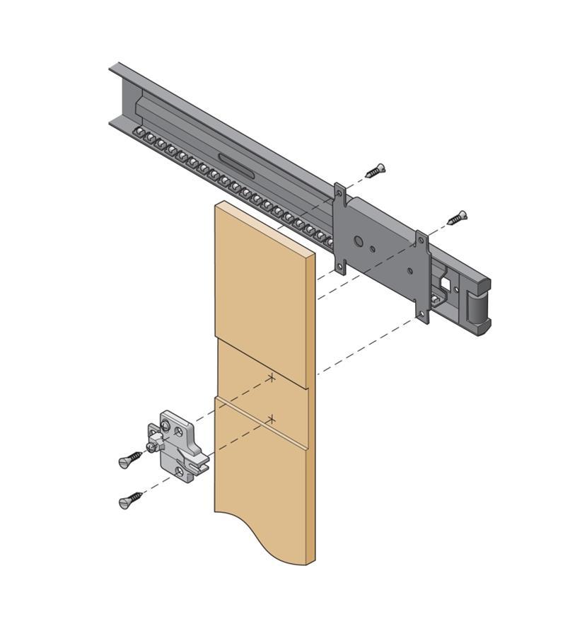 Concealed Door Slides