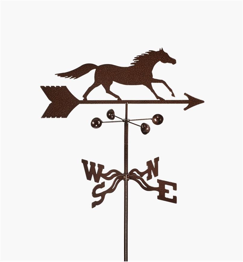 BV522 - Horse Weathervane, Garden