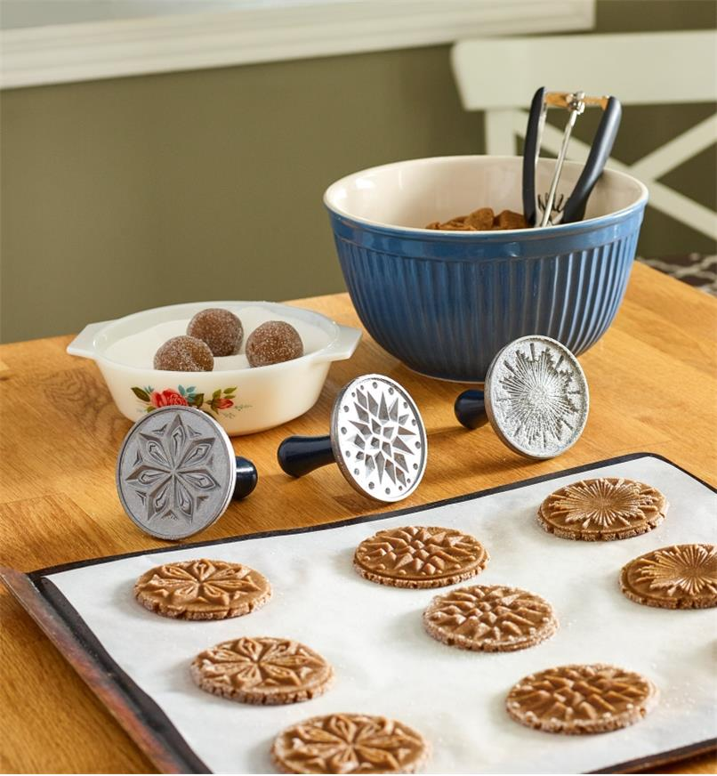 EV358 - Starry Night Cookie Stamps, set of 3