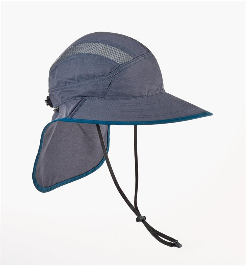 HL448 - Med Dark Gray Ultra Adventure Hat