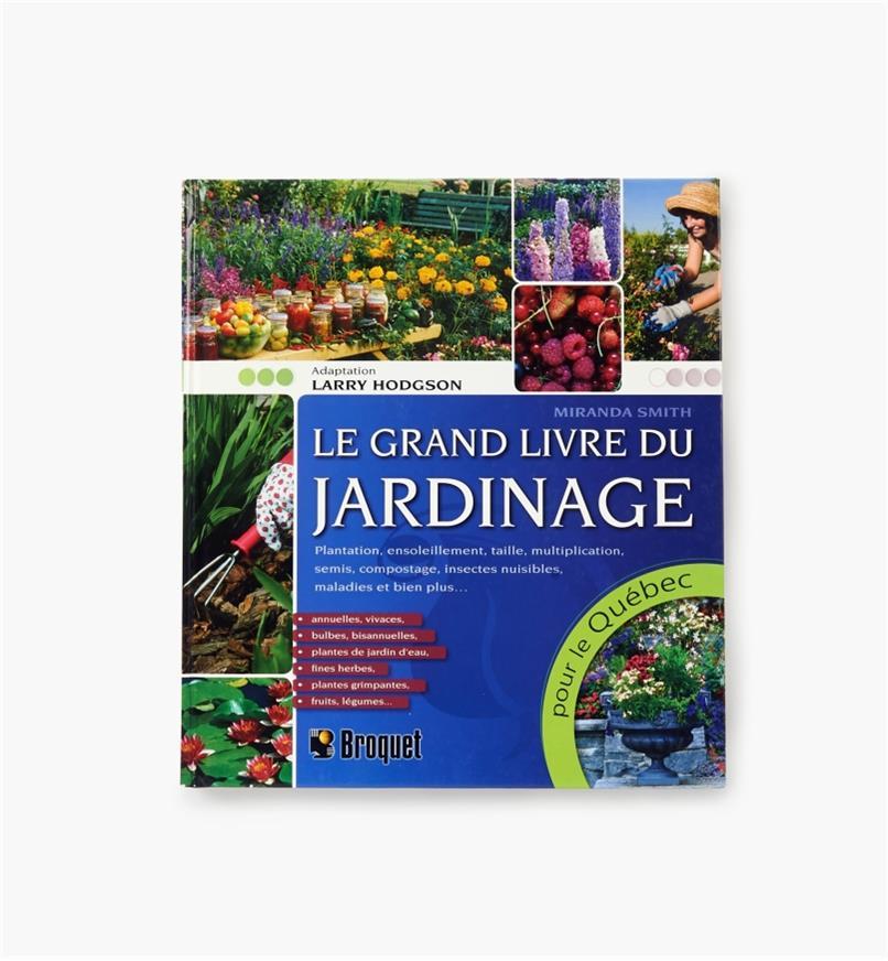 LD833 - Le grand livre du jardinage pour le Québec