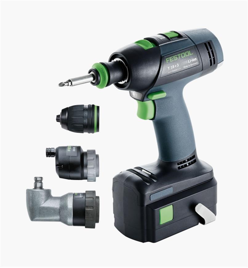 ZT574761 - Cordless Drill T18 Set