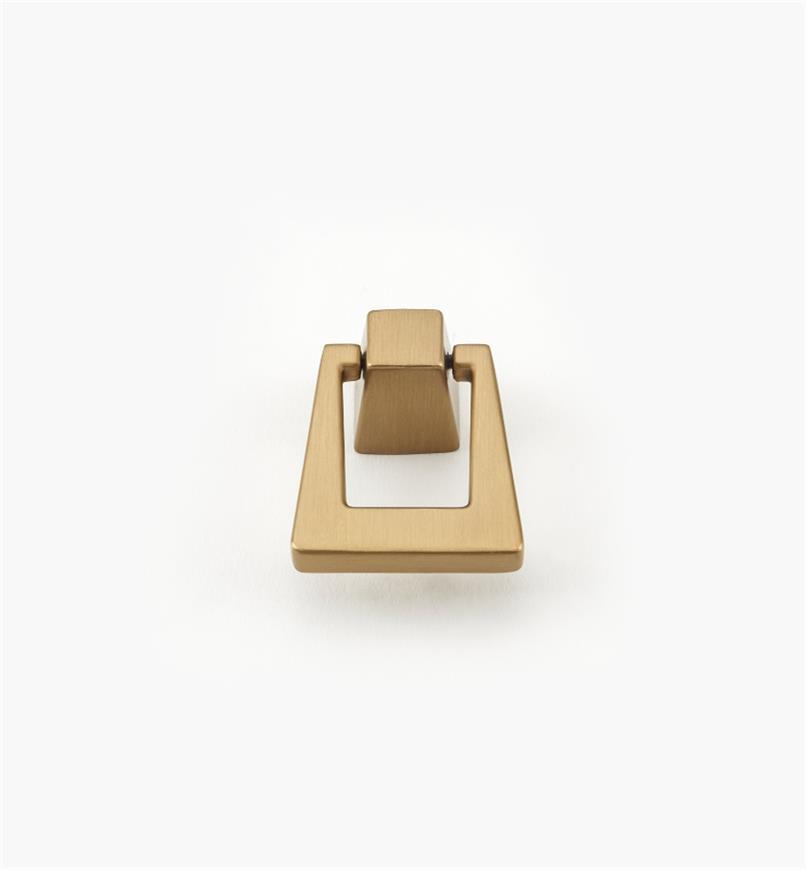 02A1784 - Poignée tombante de 13/8po x 13/4po, série Blackrock, champagne, l'unité