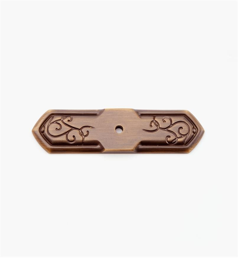 "02A5213 - 1"" x 3 7/8"" Burnished Bronze Backplate"