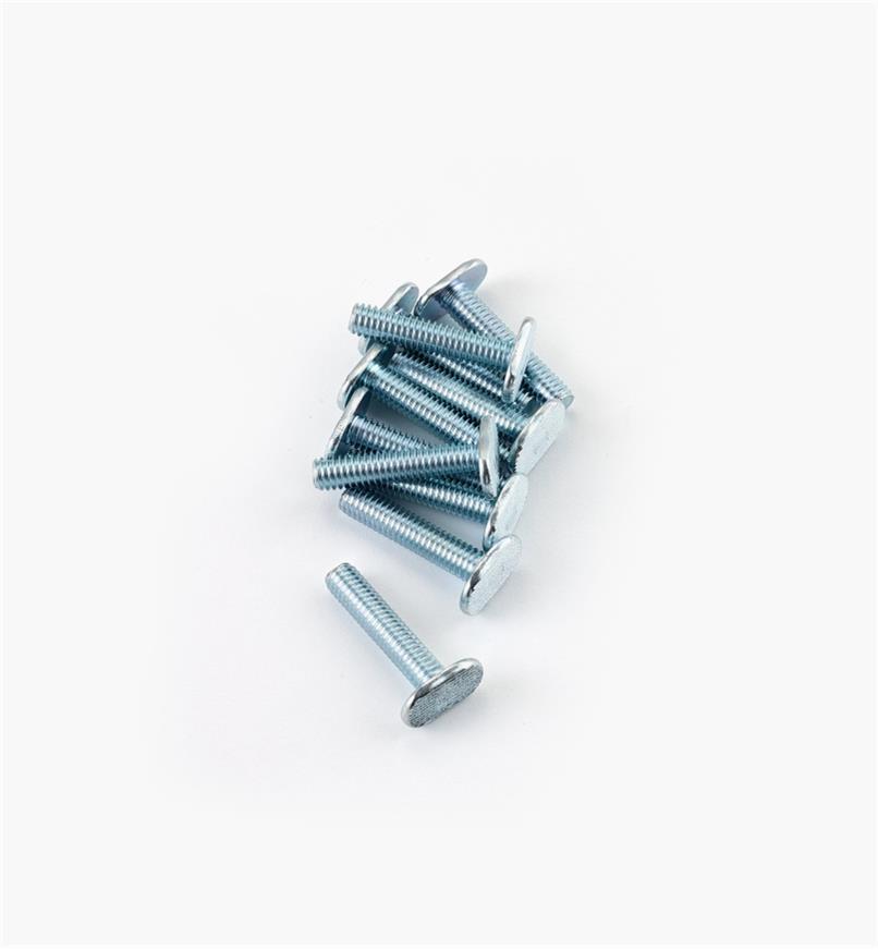 12K7963 - Boulon pour coulisse en T5/16-18 de 11/2po, le paquet de10