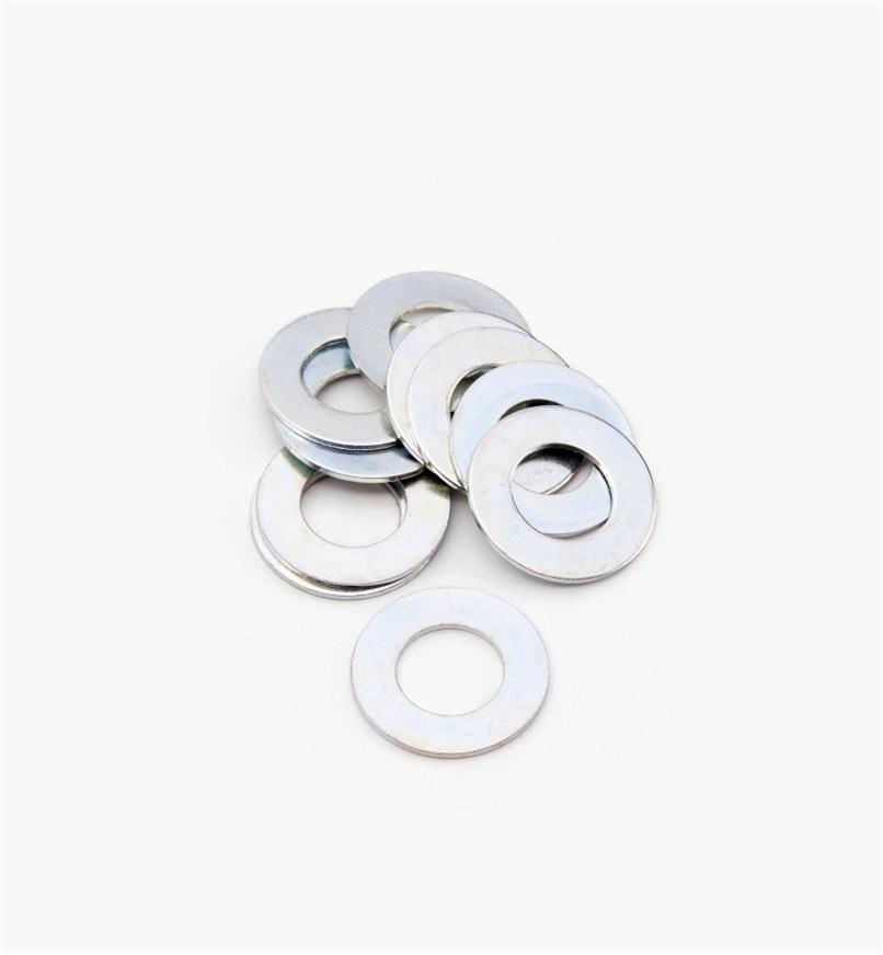 12K7966 - Hex Bolt Washers, pkg. of 10