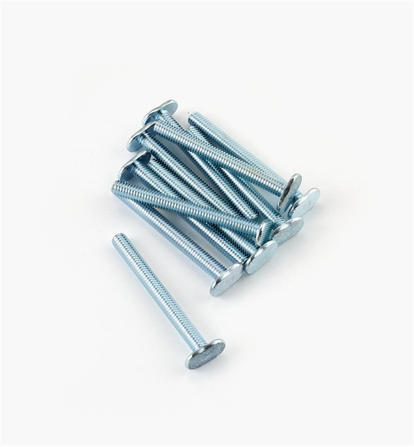 "12K7967 - 5/16 18 x 3"" T-Bolts, pkg. of 10"