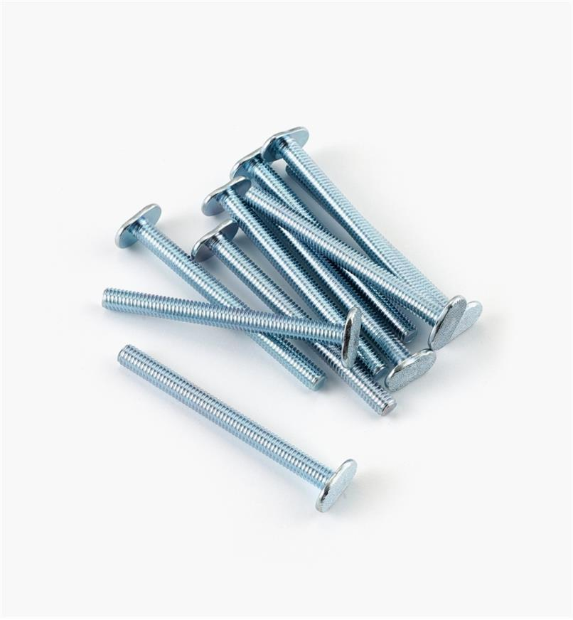 "12K7968 - 5/16 18 x 3 1/2"" T-Bolts, pkg. of 10"