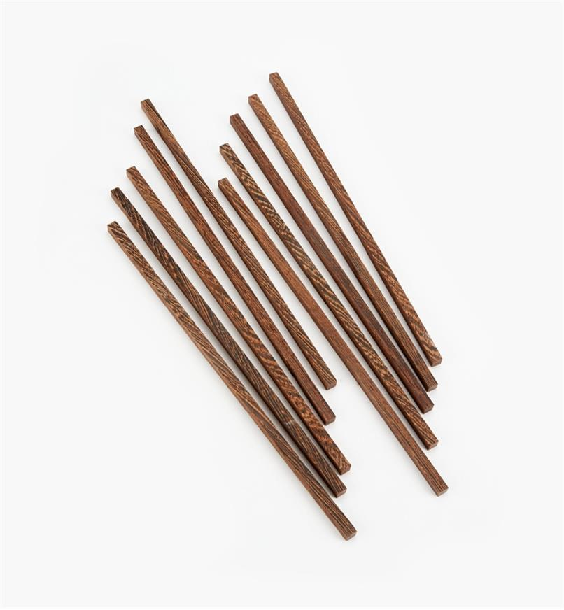 17N1607 - Bridge City Wenge Chopstick Blanks (10 pr.) & Bags