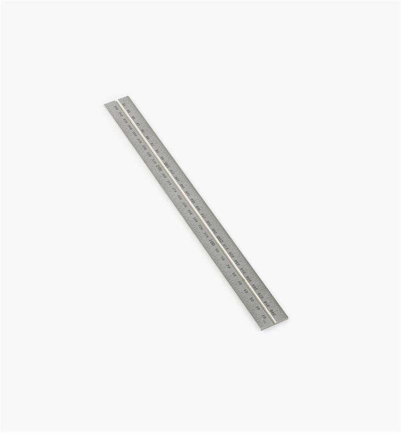 "30N0309 - Starrett 300mm Metric Regular Rule for 12""/300mm Square, Protractor & Center-Finding Heads"