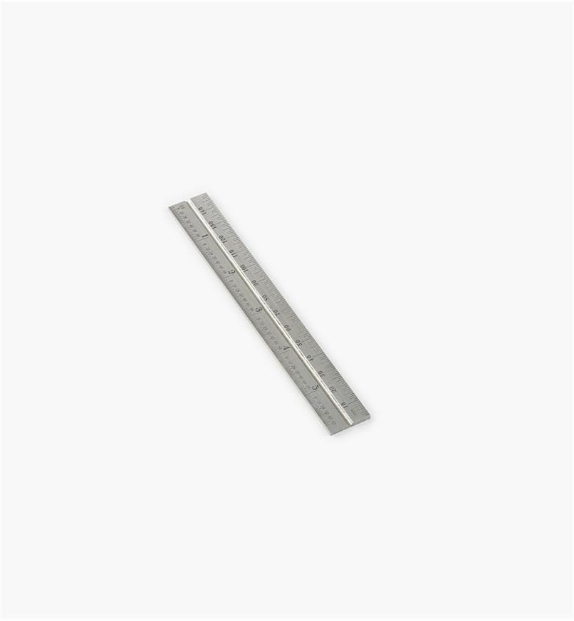 "30N3148 - Starrett 5 3/4""/150mm Imp./Metric Regular Rule for 6""/150mm Square Heads"
