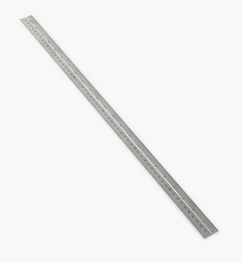 "30N3151 - Starrett 23 1/2""/600mm Imperial/Metric Regular Rule for 12""/300mm Square, Protractor & Center-Finding Heads"