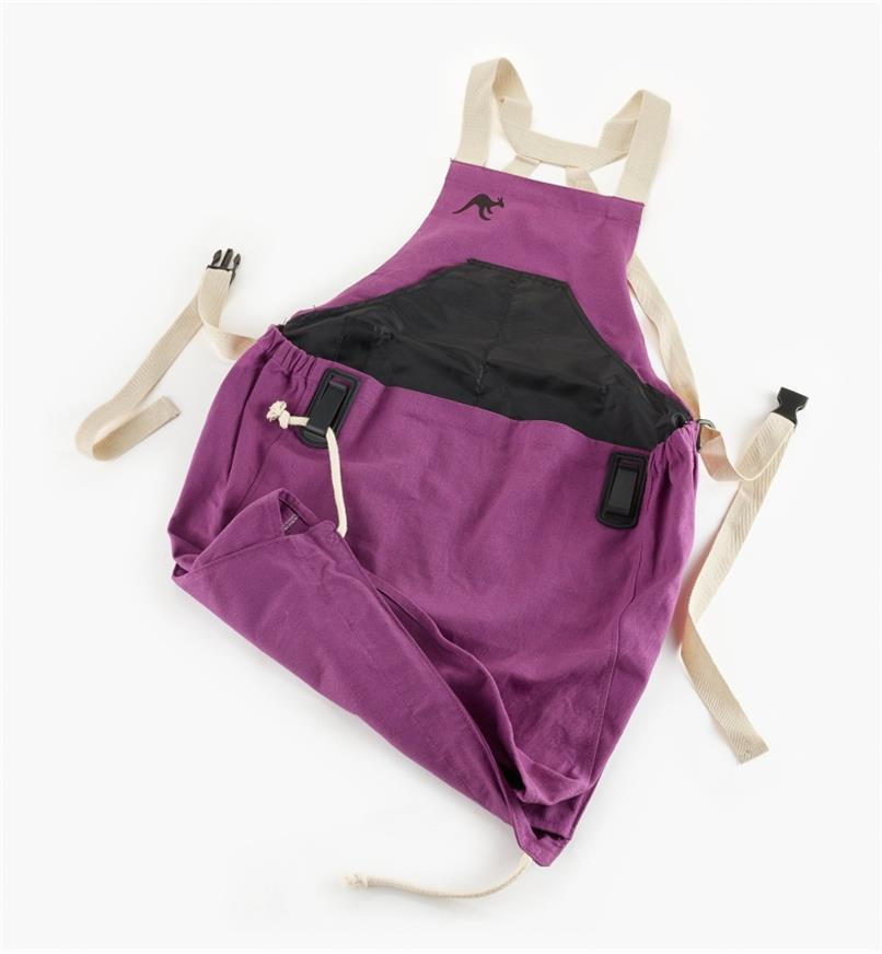 EP233 - Kangaroo Pocket Apron, Purple
