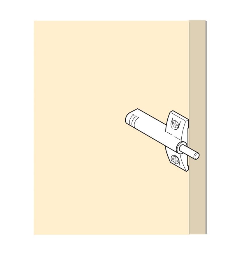 00B1734 - Blumotion & Single Face Frame Plate