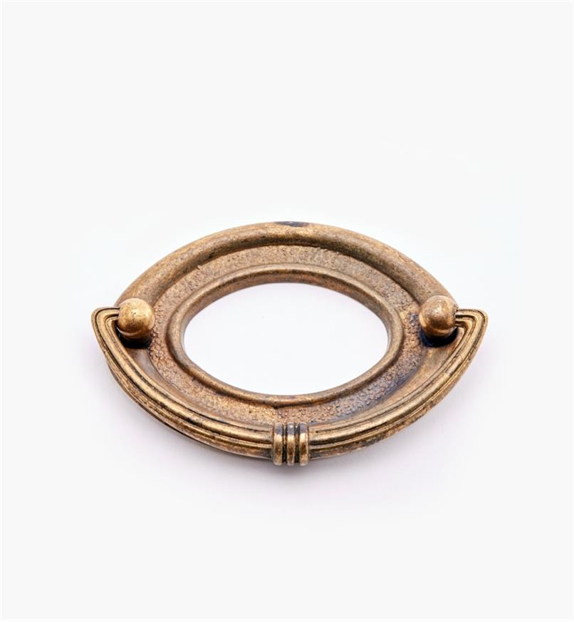 01A7102 - 64mm Open Oval Pull