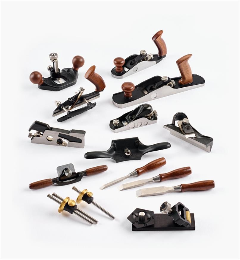 05P8273 - Ensemble complet des outils miniatures Veritas
