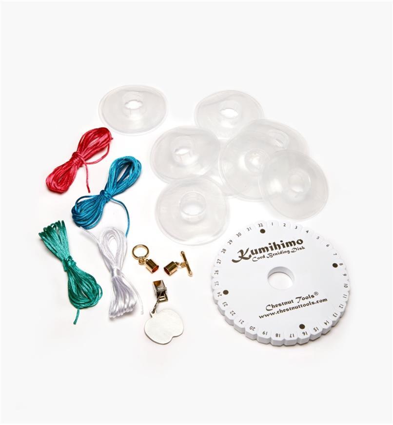 09A0302 - Kumihimo Cord Braiding Kit