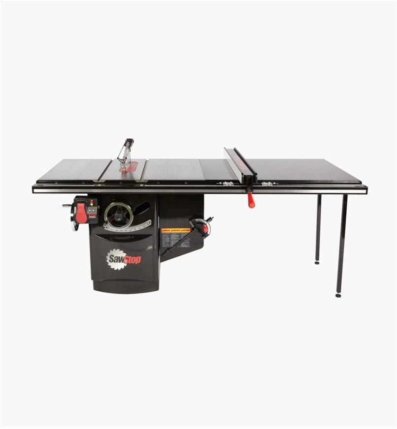 "95T2002 - SawStop 3 hp, 230V, 13A Industrial Cabinet Saw with 52"" T-Glide Fence"